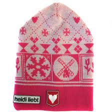 Kids Beanie holland winter in pink made in Holland